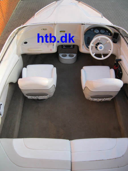 Campion 505 Allante m/Mercury F150 hk EFI og Variant trailer