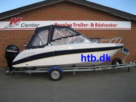 Askeladden 605 Explorer m/Mercury F115 hk EFI og Brenderup trailer